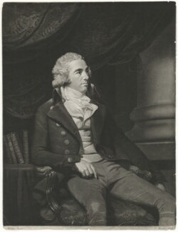 Unknown man, formerly known as George Hibbert, by John Murphy, after  John Hoppner - NPG D35756