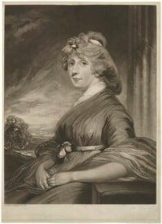 Elizabeth Margaret Hibbert (née Fonnereau), by James Ward, after  John Hoppner - NPG D35758