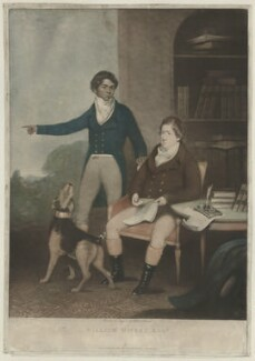 William Munnew (or Munnoo); William Hickey, by and published by William Thomas - NPG D35761
