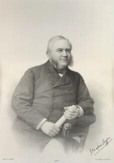 Joseph Napier Higgins, by Morris & Co - NPG D35763