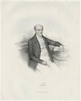Rowland Hill, 1st Viscount Hill, by Émile Desmaisons, printed by  Lemercier Bernard et Cie, published by  A.H. & C.E. Baily, August 1841 - NPG D35826 - © National Portrait Gallery, London
