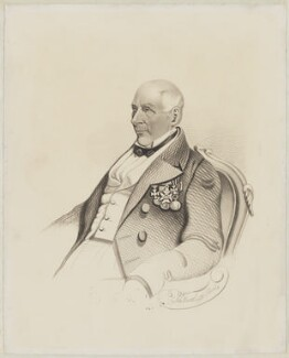 Rowland Hill, 1st Viscount Hill, by John Boothroyd - NPG D35827