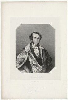 Rowland Hill, 2nd Viscount Hill, by George B. Black, published by  Thomas Collins, after  Smyth, published circa 1840s - NPG D35829 - © National Portrait Gallery, London