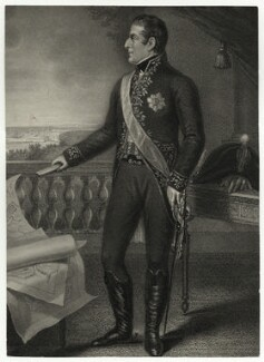 Arthur Wellesley, 1st Duke of Wellington, by James Godby, published by  Edward Orme, after  Domenico Pellegrini - NPG D36022