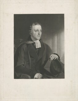 John Hill, by Samuel Bellin, after  John Wood - NPG D35833