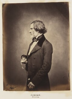 John Gibson, by Unknown photographer - NPG Ax27700