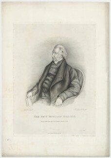 Rowland Hill, by and published by John Linnell - NPG D35841