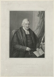 Rowland Hill, by Samuel Freeman, published by  Thomas Tegg, after  William Derby - NPG D35843