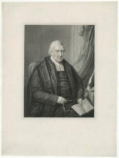 Rowland Hill, by Samuel Freeman, after  William Derby - NPG D35845