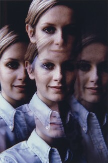 Twiggy, by David Steen - NPG x133060