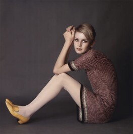 Twiggy, by David Steen - NPG x133061