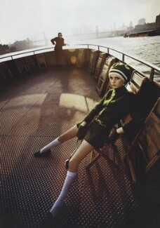 Twiggy, by Melvin Sokolsky - NPG x133064