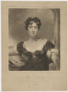 Maria Rebecca Davison (née Duncan), by Charles Turner, published by  John Peter Thompson, after  George Henry Harlow - NPG D35784