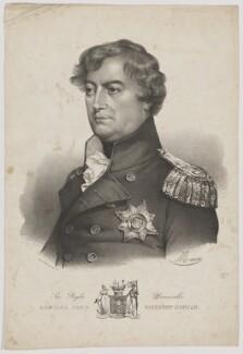 Adam Duncan, 1st Viscount Duncan, by Antoine Maurin, printed by  François Le Villain - NPG D35786