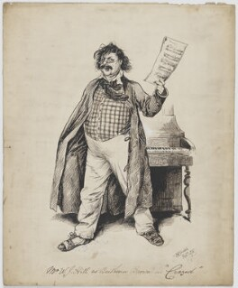 William J. Hill (William Hill Jones) as Beethoven in 'Crazed', by Matt Stretch - NPG D35848