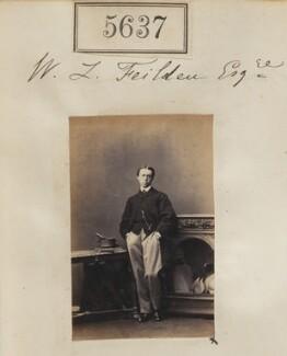 Sir William Leyland Feilden, 3rd Bt, by Camille Silvy - NPG Ax55592