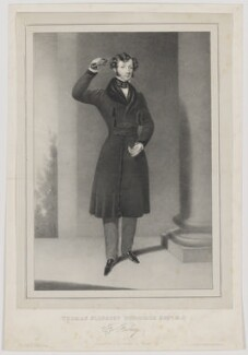 Thomas Slingsby Duncombe, by M. O'Connor, printed by  W. Clerk, published by  J.O. Clerk, published by  J. McCormick - NPG D35795