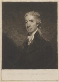 William Dundas, by Samuel William Reynolds, published by  John Jeffryes, after  John Hoppner - NPG D35800