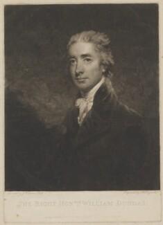 William Dundas, by Samuel William Reynolds, published by  John Jeffryes, after  John Hoppner - NPG D36023