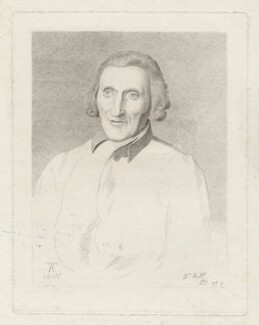 Dr Hill, by Thomas Kerrich - NPG D35849