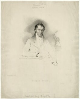 Robert Hills, by William Thomas Fry, published by  William Smith, after  John Jackson - NPG D35852