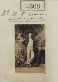 Hon. Henry George Edwardes, by Camille Silvy - NPG Ax54323