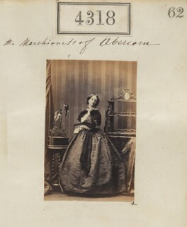 Louisa Jane (née Russell), Duchess of Abercorn, by Camille Silvy - NPG Ax54332