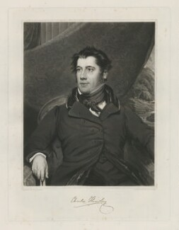 Charles Hindley, by Samuel William Reynolds Jr, published by  Agnew & Zanetti, after  Benjamin Garside - NPG D35861