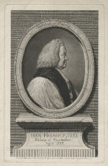 Benjamin Hoadly, by James Basire, after  Nathaniel Hone, after  Isaac Gosset, 1772 (1756) - NPG D35871 - © National Portrait Gallery, London