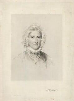 Frances Dorothea Hoare, by James Posselwhite, after  George Richmond - NPG D35874