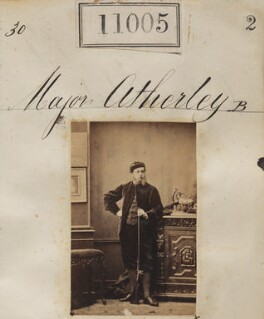 Francis Henry Atherley, by Camille Silvy, 30 July 1862 - NPG Ax60711 - © National Portrait Gallery, London