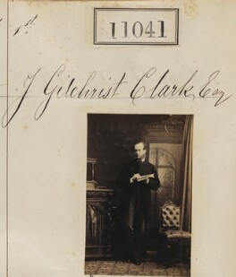 John Gilchrist Clark, by Camille Silvy - NPG Ax60745