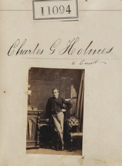 Charles George Holmes à Court, by Camille Silvy - NPG Ax60794