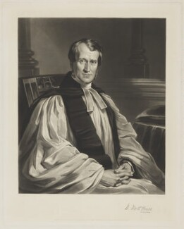 William Worth Hoare, by Samuel William Reynolds Jr, published by  Thomas Agnew & Sons Ltd, after  J.D. Mercier - NPG D35888