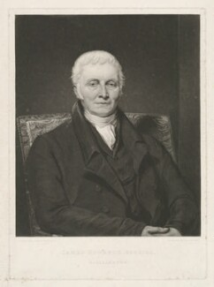 James Hogarth, by Thomas Hodgetts, after  George Watson - NPG D35899