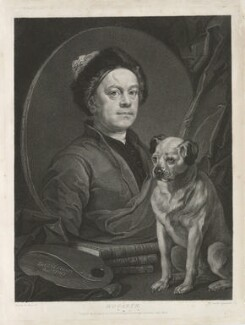 William Hogarth, by Benjamin Smith, published by  John Boydell, published by  Josiah Boydell, after  William Hogarth, published 2 April 1794 (1745) - NPG D35901 - © National Portrait Gallery, London