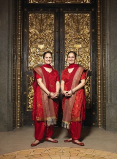 The Singh Twins (Rabindra Singh; Amrit Singh), by Dan Kenyon, March 3 2009 - NPG  - © Dan Kenyon / National Portrait Gallery, London