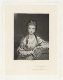 Mary Fox (née Fitzpatrick), Lady Holland, by Arthur Turrel, after  Sir Joshua Reynolds - NPG D35917