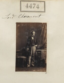 Thomas Fortescue, 1st Baron Clermont, by Camille Silvy - NPG Ax54487