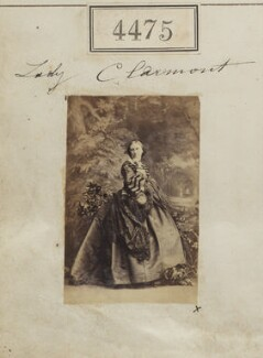 Louisa Grace Fortescue (née Butler), Lady Clermont, by Camille Silvy - NPG Ax54488