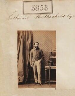 Nathaniel Mayer ('Natty') de Rothschild, 1st Baron Rothschild, by Camille Silvy - NPG Ax55807