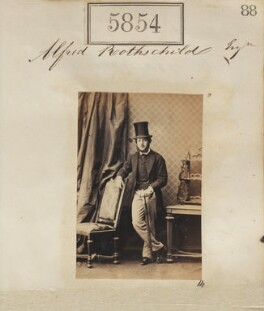 Alfred Charles de Rothschild, by Camille Silvy - NPG Ax55808