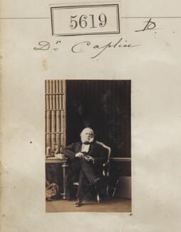 Jean François Isidore Caplin, by Camille Silvy - NPG Ax55574