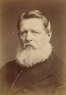 Sir Stafford Henry Northcote, 1st Earl of Iddesleigh, by Elliott & Fry, 1880s - NPG x9197 - © National Portrait Gallery, London