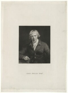 John Hollis, by Charles Warren, after  John Opie - NPG D35921