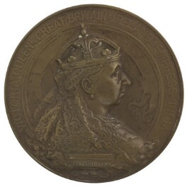 Queen Victoria, by Sir Alfred Gilbert - NPG D36108