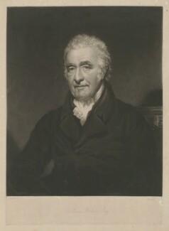 William Holme, by William Ward, after  Thomas Stewardson - NPG D35927