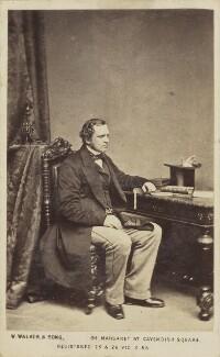 Edward Henry Stanley, 15th Earl of Derby, by William Walker & Sons - NPG Ax68162