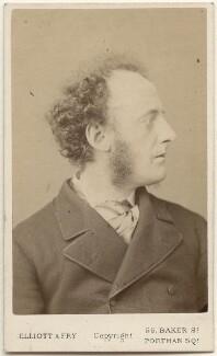 Sir John Everett Millais, 1st Bt, by Elliott & Fry - NPG x6280