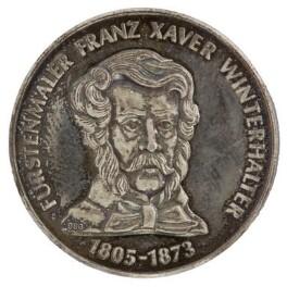 Franz Xaver Winterhalter, by Unknown artist - NPG D36121